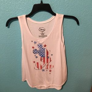 Disney Mickey Mouse 4th of July tank top